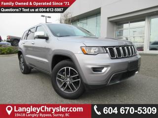 Used 2017 Jeep Grand Cherokee Limited <B>*SUNROOF*LEATHER*5.0 TOUCHSCREEN*<b> for sale in Surrey, BC