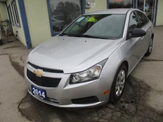 Used 2014 Chevrolet Cruze 6-SPEED MANUAL POWER EQUIPPED LS MODEL 5 PASSENGER 1.8L - DOHC.. CD/AUX INPUT.. KEYLESS ENTRY.. for sale in Bradford, ON
