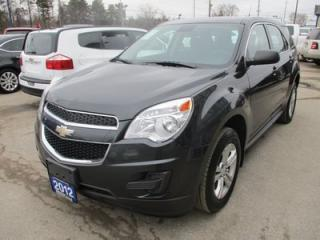 Used 2012 Chevrolet Equinox POWER EQUIPPED LS MODEL 5 PASSENGER 2.4L - ECO-TEC.. CD/AUX INPUT.. ECON-BOOST PACKAGE.. KEYLESS ENTRY.. for sale in Bradford, ON