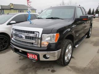 Used 2013 Ford F-150 WORK READY XLT EDITION 6 PASSENGER 3.5L - ECO-BOOST.. 4X4.. EXT-CAB.. SHORTY.. SYNC TECHNOLOGY.. BACK-UP CAMERA.. KEYLESS ENTRY.. for sale in Bradford, ON