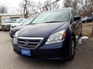 Used 2007 Honda Odyssey EX-L,,8 SEATER!! certified. for sale in Oshawa, ON