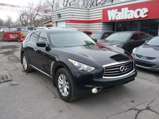 Used 2014 Infiniti QX70 AWD Sunroof Loaded for sale in Ottawa, ON