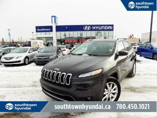 Used 2014 Jeep Cherokee LIMITED/V6/NAV/LEATHER/BACKUP CAM for sale in Edmonton, AB