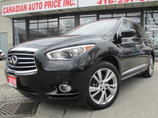 Used 2014 Infiniti QX60 NAV-LETHER-MOONROF-360 CAMERA-DVD-7 PASS for sale in Scarborough, ON