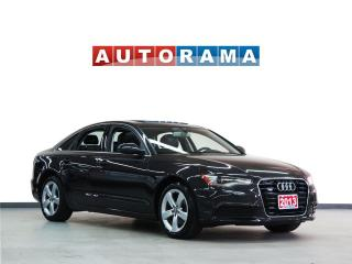 Used 2013 Audi A6 NAVIGATION LEATHER SUNROOF 4WD for sale in North York, ON