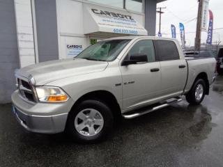 Used 2010 Dodge Ram 1500 SLT 4x4, Crew Cab, Tonneau Cover, No Accidents!! for sale in Langley, BC