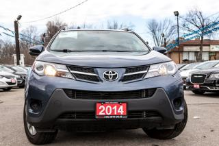 Used 2014 Toyota RAV4 LE BACKUP CAMERA/NO ACCIDENT/MINT CONDITION for sale in Brampton, ON