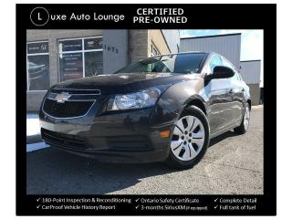 Used 2014 Chevrolet Cruze 1LT - ONLY 56K! AUTO, REMOTE START, BLUETOOTH! for sale in Orleans, ON