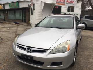 Used 2006 Honda Accord EX-L Safety And E Test is Included The Price for sale in Scarborough, ON