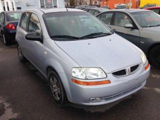 Used 2008 Pontiac Wave SE for sale in Oshawa, ON