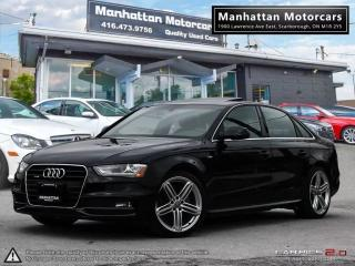 Used 2015 Audi A4 PROGRESSIV PLUS S-LINE |NAV|CAMERA|HID|BLUETOOTH for sale in Scarborough, ON