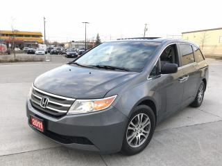 Used 2011 Honda Odyssey EXL, DVD, 8 Pass, 3/Ywarranty available for sale in North York, ON