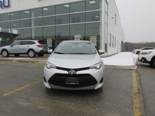 Used 2017 Toyota Corolla LE for sale in Owen Sound, ON