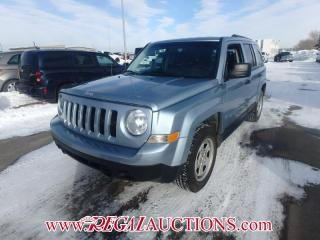 Used 2013 Jeep Patriot Sport 4D Utility FWD 2.4L for sale in Calgary, AB