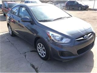 Used 2013 Hyundai Accent clean for sale in Woodbridge, ON