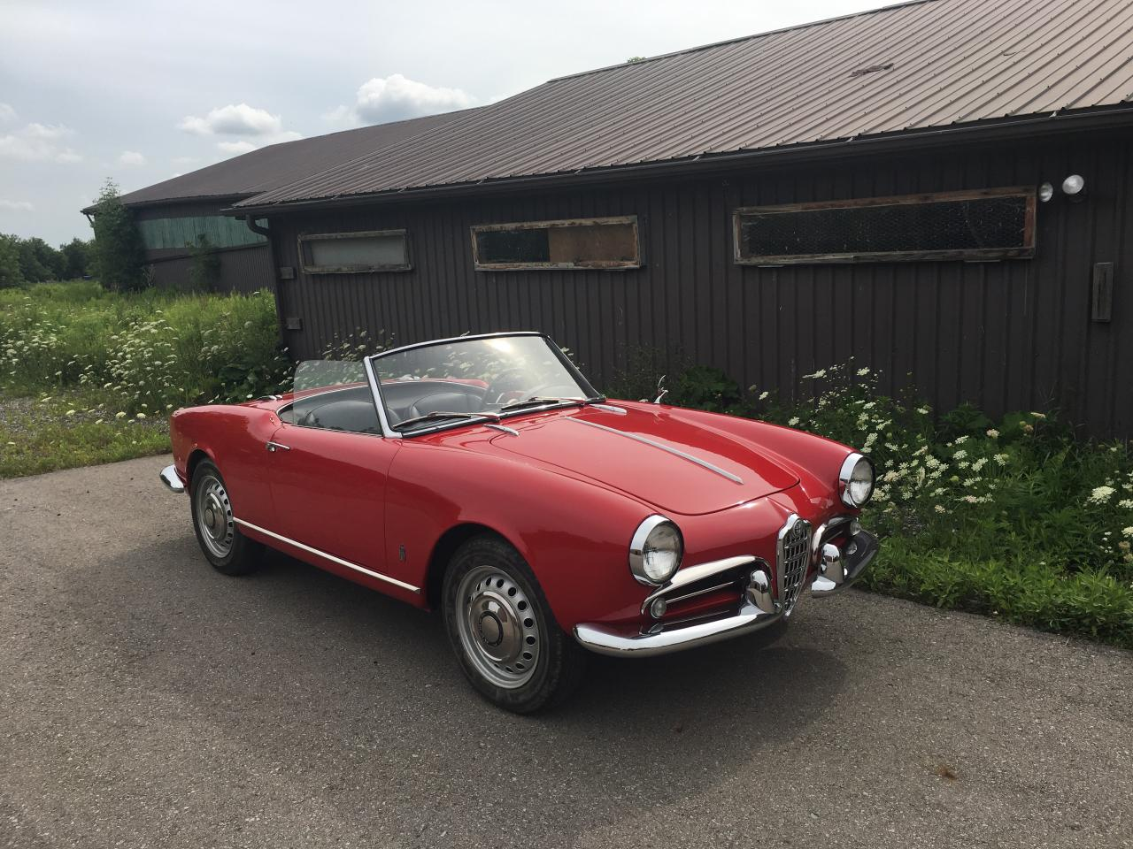 Photo of Red 1959 Alfa Romeo Spider Giulietta Spider 1300