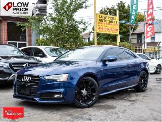Used 2015 Audi A5 SLine*AWD*Coupe*BlackPack*ExtraClean! for sale in Toronto, ON