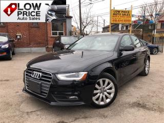 Used 2014 Audi A4 AWD*Leather*Sunroof*AllPowerOpti*HtdSeats*AudiWarr for sale in York, ON