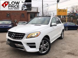 Used 2015 Mercedes-Benz ML-Class Diesel*Navi*360Cam*HtdSeats*FullOption! for sale in York, ON