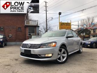 Used 2015 Volkswagen Passat Leather*Sunroof*Alloys*HtdSeats*Warranty* for sale in York, ON