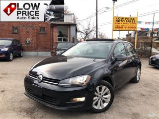 Used 2015 Volkswagen Golf Navi*Leather*Sunroof*Camera*Warranty* for sale in York, ON