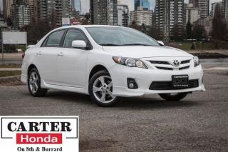 Used 2013 Toyota Corolla S, local BC, heated sports seats for sale in Vancouver, BC