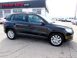 Used 2009 Volkswagen Tiguan 2.0T 4MOTION PANORAMIC SUNROOF CERTIFIED for sale in Milton, ON