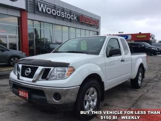 Used 2011 Nissan Frontier SV-V6  - Aluminum Wheels - $132.66 B/W for sale in Woodstock, ON