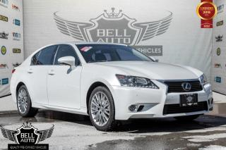 Used 2014 Lexus GS 350 AWD,LUXURY,NAVI,HEADS-UP DISPLAY,BACK-UP CAM,BLIND SPOT for sale in Toronto, ON