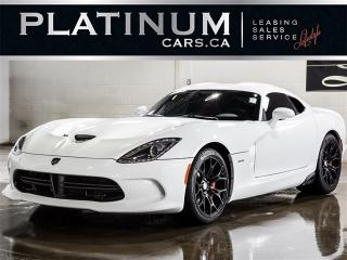 Used 2014 Dodge SRT Viper GTS 640HP, NAVIGATION, RED LEATHER, CAMERA SRT Viper for sale in North York, ON
