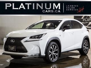 Used 2017 Lexus NX NX200t F-SPORT SERIES 3, NAVI, CAM, BLINDSPOT for sale in North York, ON