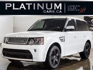 Used 2013 Land Rover Range Rover Sport SUPERCHARGED, AUTOBIOGRAPHY, NAVI, CAM for sale in North York, ON