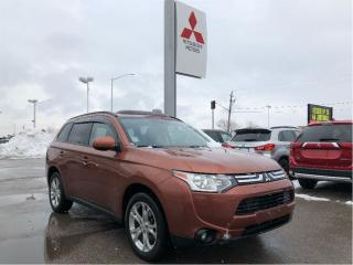 Used 2014 Mitsubishi Outlander 4WD ES for sale in London, ON