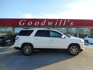 Used 2013 GMC Acadia SLT! HEATED LEATHER SEATS! QUAD SEATS! for sale in Aylmer, ON
