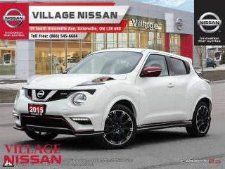 Used 2015 Nissan Juke Nismo Low Mileage Nismo! for sale in Unionville, ON
