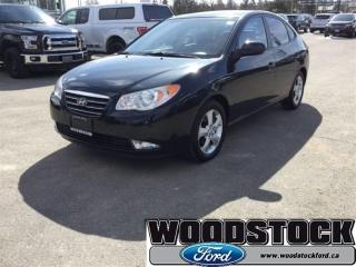 Used 2009 Hyundai Elantra Leather, Sunroof, 2 Sets OF Tires for sale in Woodstock, ON