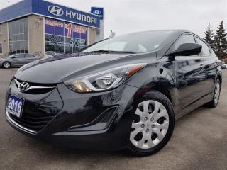 Used 2016 Hyundai Elantra GL In very good condition for sale in Mississauga, ON