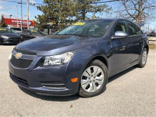 Used 2014 Chevrolet Cruze 1LT LIKE NEW! TRANSMISSION W/DUAL SHIFT MODE for sale in St Catharines, ON