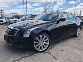 Used 2014 Cadillac ATS 2.0L Turbo Luxury LEATHER SUNROOF for sale in St Catharines, ON