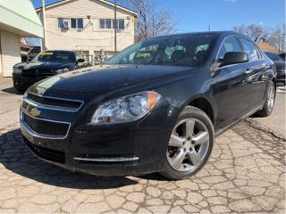 Used 2012 Chevrolet Malibu LT Plat Ed MOONROOF LEATHER & SUEDE CHROME RIMS for sale in St Catharines, ON