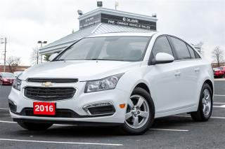 Used 2016 Chevrolet Cruze LT - 6AT for sale in Mississauga, ON