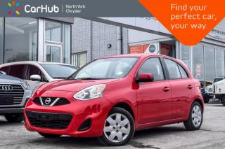 Used 2015 Nissan Micra SV |Manual|AM/FM|KeylessEntry|AC|PowerOptions|GreatDeal| for sale in Thornhill, ON