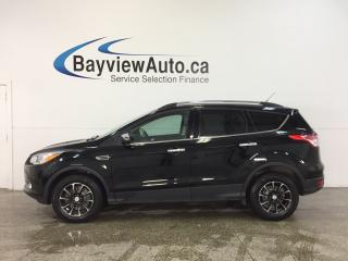 Used 2016 Ford Escape SE- 4WD|ECOBOOST|HTD STS|DUAL CLIM|SYNC|REV CAM! for sale in Belleville, ON
