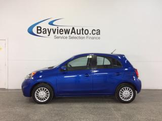 Used 2015 Nissan Micra SV- AUTO|KEYLESS ENTRY|A/C|BLUETOOTH|CRUISE! for sale in Belleville, ON