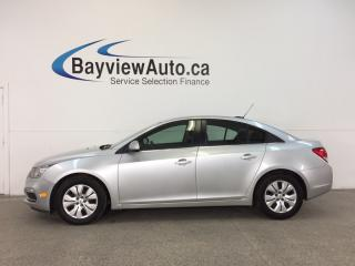 Used 2016 Chevrolet Cruze 1LT- 6 SPEED|TURBO|A/C|MY LINK|REV CAM|CRUISE! for sale in Belleville, ON