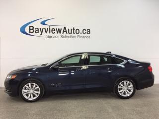 Used 2017 Chevrolet Impala LT- REM STRT|ALLOYS|DUAL CLIAMTE|MY LINK|REV CAM! for sale in Belleville, ON