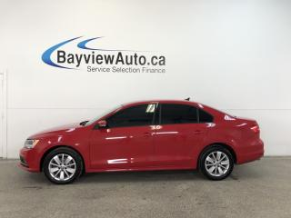 Used 2015 Volkswagen Jetta 2.0 TDI Trendline+ - ALLOYS! TINT! HTD STS! REV CAM! CRUISE! for sale in Belleville, ON