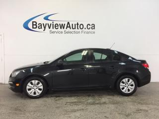 Used 2016 Chevrolet Cruze - 1.8L|AUTO|A/C|ON STAR|UNDER 11,000KM! for sale in Belleville, ON