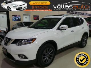 Used 2016 Nissan Rogue SL| PANORAMIC RF| NAVIGATION for sale in Woodbridge, ON