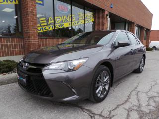Used 2017 Toyota Camry SE Leather Bolsters, Heated Seats for sale in Woodbridge, ON